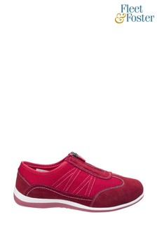 Fleet & Foster Red Mombassa Comfort Shoes