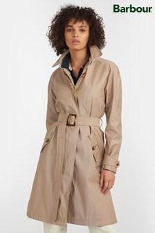 Barbour® Tartan Waterproof Brunswick Trench Coat