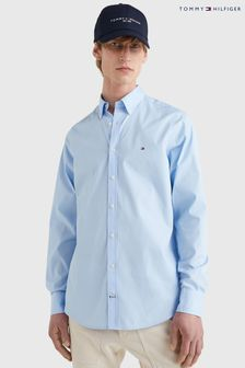 Tommy Hilfiger Blue Core Stretch Slim Poplin Shirt