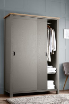 Dove Grey Malvern Sliding Wardrobe