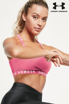 Under Armour Strappy Logo Bra