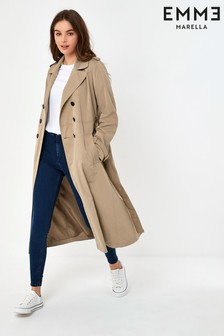 Emme by Marella Beige Sora Trench Coat