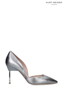 Kurt Geiger London Metalic Bond Leather Heels