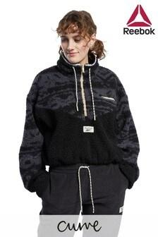 Reebok Classics Fleece 1/2 Zip Jacket