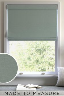 Cotton Sage Made To Measure Roman Blind