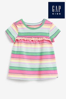Gap Ruffle Jersey T-Shirt