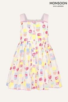 Monsoon Natural Baby Ice Cream Dress
