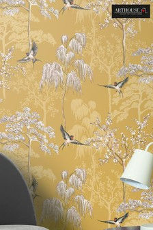 Japanese Garden Floral Wallpaper by Arthouse