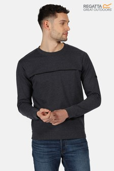 Regatta Blue Payson Fleece Sweatshirt