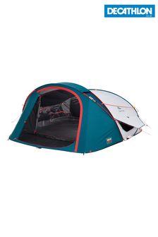 Decathlon Camping Tent 2 Seconds Xl Fresh & Black 3 Person Quechua