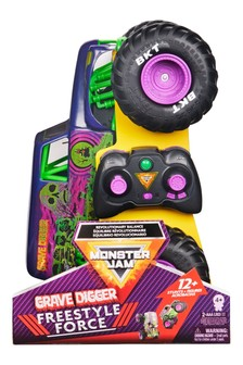 Monster Jam Grave Digger Rc Free Style Force