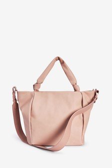 Nude Knot Handle Shopper