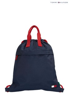 Tommy Hilfiger Red Core Drawstring Bag