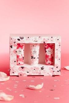 Set of 3 Miss Pink Lip Balm Gift Set