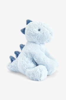 Blue Dinosaur Soft Toy (Newborn)
