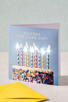 Light Up Birthday Card