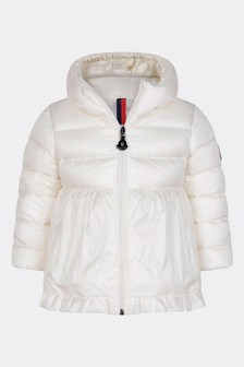 Baby Girls Ivory Down Padded Odile Jacket