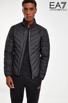 Emporio Armani EA7 Black Padded Jacket