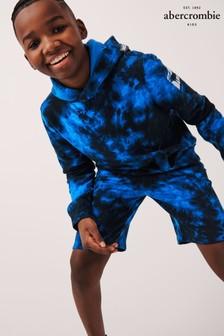 Abercrombie & Fitch Tie Dye Zip Through Hoodie
