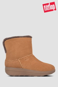 FitFlop™ Natural Mukluk Shorty Iii Suede Ankle Boots