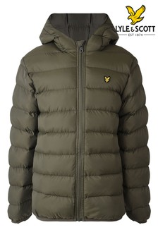 Lyle & Scott Green Padded Jacket