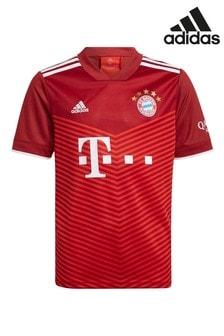 adidas Bayern Munich 21/22 Home Kids Football Shirt