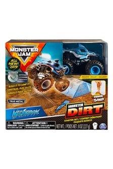 Monster Jam Kinetic Dirt Starter Set