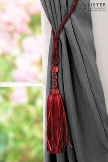 Lister Cartwright Beaded Ribbon Tie Backs