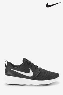 Nike Golf Black Roshe Trainers