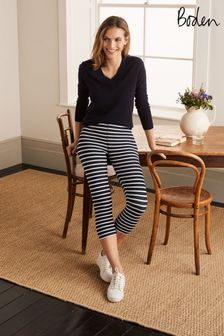 Boden Blue Favourite Cropped Leggings