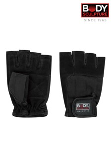 Body Sculpture Leather Large Exercise Gloves