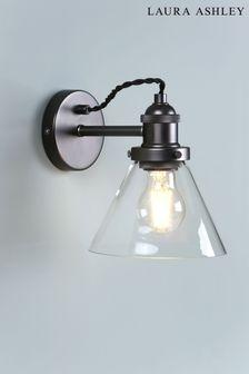 Laura Ashley Isaac Industrial Wall Light