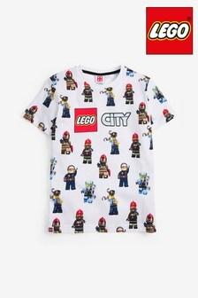 White LEGO® Character Print T-Shirt (4-12yrs)