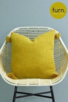 Furn Eden Ombre Tassel Cushion