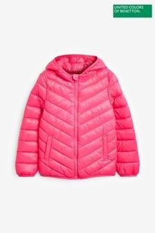 Benetton Pink Padded Jacket