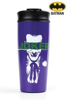 Purple The Joker Metal Travel Mug