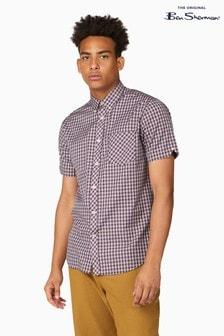 Ben Sherman Port Mini Mod Check Shirt