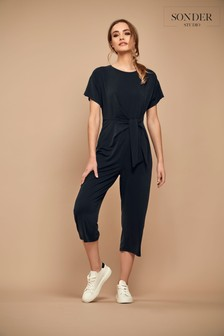 Sonder Studio Grey Mock Cupro Jumpsuit