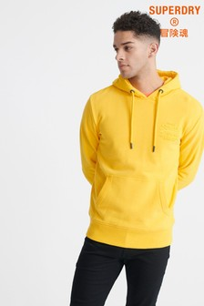 Superdry Yellow Tonal Injection Hoody