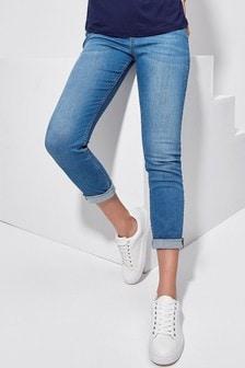 Khost Blue Turn-Up Jeans