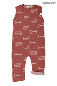 Turtledove London Legend Tank Brick Dungarees