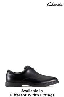 Clarks Black Scala Loop Y Shoes