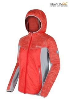 Regatta Orange Women's Rocknell Hybrid Fleece