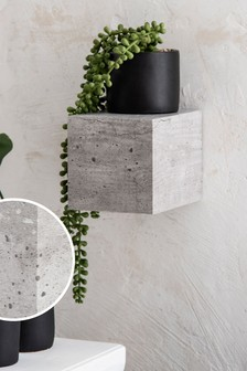 Small Concrete Effect Shelf