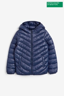 Benetton Navy Padded Jacket