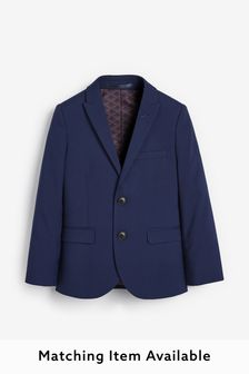 Navy Tailored Fit Suit Jacket (12mths-16yrs)