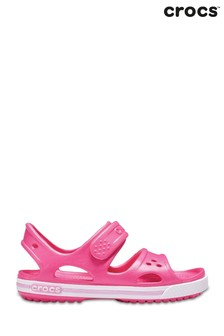 Crocs™ Pink Kids Crocband™ ll Touch Fastening Sandals