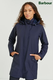 Barbour® Coastal Navy Waterproof Rosegate Trench Coat