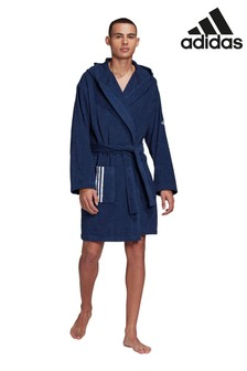 adidas 3 Stripe Bathrobe