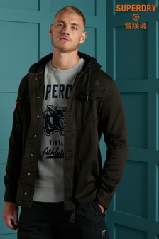 Superdry Core Military Patched Hoodie